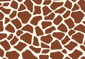 Gratis Giraf Print Vector
