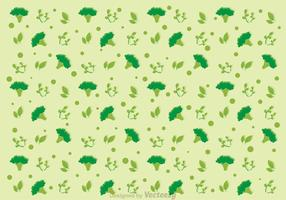 Broccoli Pattern Vector