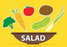 Vetor de salada