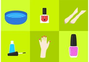 Manicure Pedicure Vectors