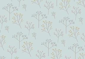 Tree Pattern Background vector