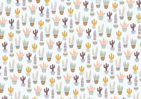 Plants Pattern Background vector