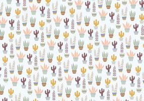 Plants Pattern Background