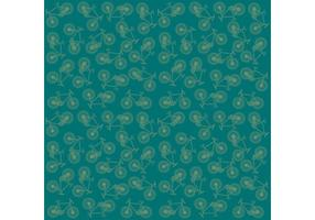 Vector Bike Pattern Background