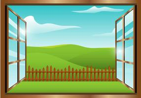 Window View Vector