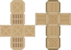 Crates Paper Toys