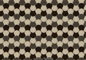 Vervormde Checker Board Pattern Vector