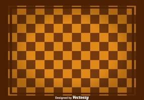 Brown Square Checker Board Vektor