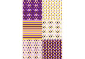 Padrões coloridos geométricos