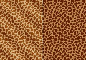Free Giraffe Prints Vector
