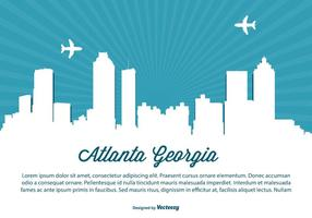 Atlanta Georgia Horizon Illustratie