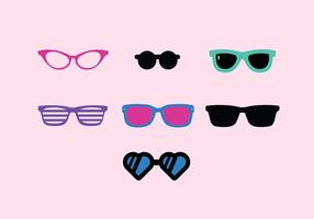 Vintage Sunglasses Vector Pack