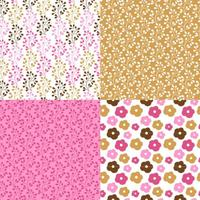 Pink and Brown Patterns