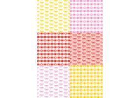 Retro Romantic Pattern Set