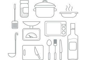 Vector Kochen Icons