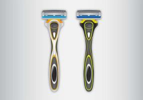 Vectores libres de la maquinilla de afeitar