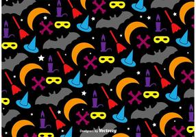 Halloween Colourful Pattern vector