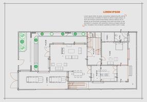 Free Floor Plan Vector