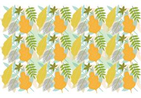 Leaf Pattern Background