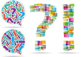 Vragenuitroepingsvectoren