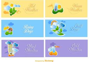 Cute-weather-banners-vector