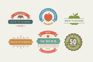 Back To School Colour Labels
