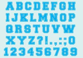 Universiteit Font Type Vectors