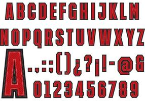 Universiteit Lettertype Vector