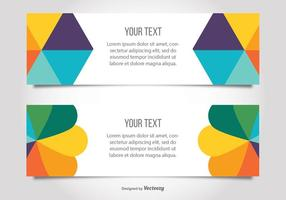 Colorful Modern Banner Templates