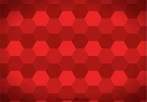 Hexagon Maroon Background Vector