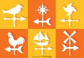 Iconos del vector de la vaina del tiempo