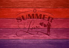 Free Summer Love Vector Illustration