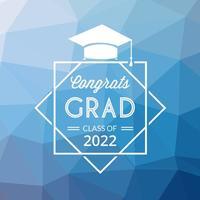 Fundo abstrato abstrato do vetor da graduação
