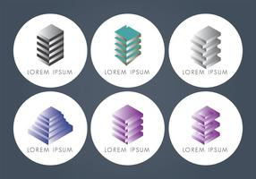 Abstract Hotel Logo Vectors