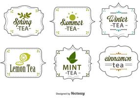 Seasonal Tea Tags