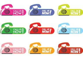 Call Us Now Labels
