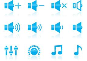 Volume en audio iconen