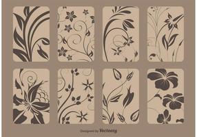 Retro Flourish Cards