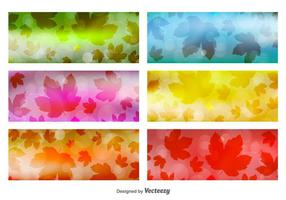 Leaves Banner Backgrounds