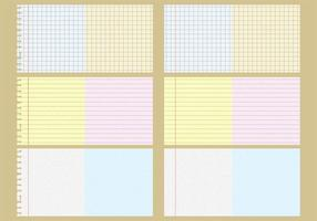 Vector Notebook Patterns