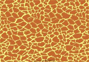 vettore del modello di stampa giraffa