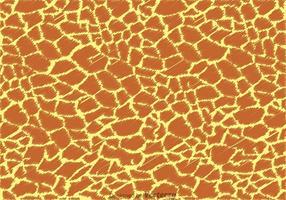 Giraffe Print Pattern Vector