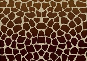 Girafftryck Vektor