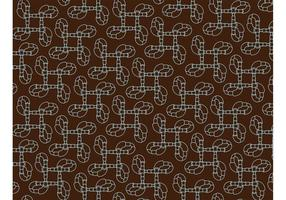 Abstract Pipe Pattern Background Vector
