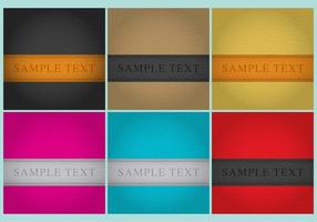 Leather Background Templates vector