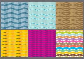 Bunte Chevron Patterns