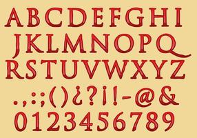 Klassiek Blood Font Type