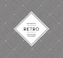 Free Geometric Black And White Vector Patterns