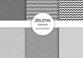 Free Vector Zig Zag Backgrounds