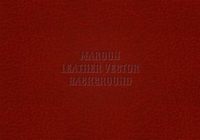 Maroon Leather Background Vector gratuito